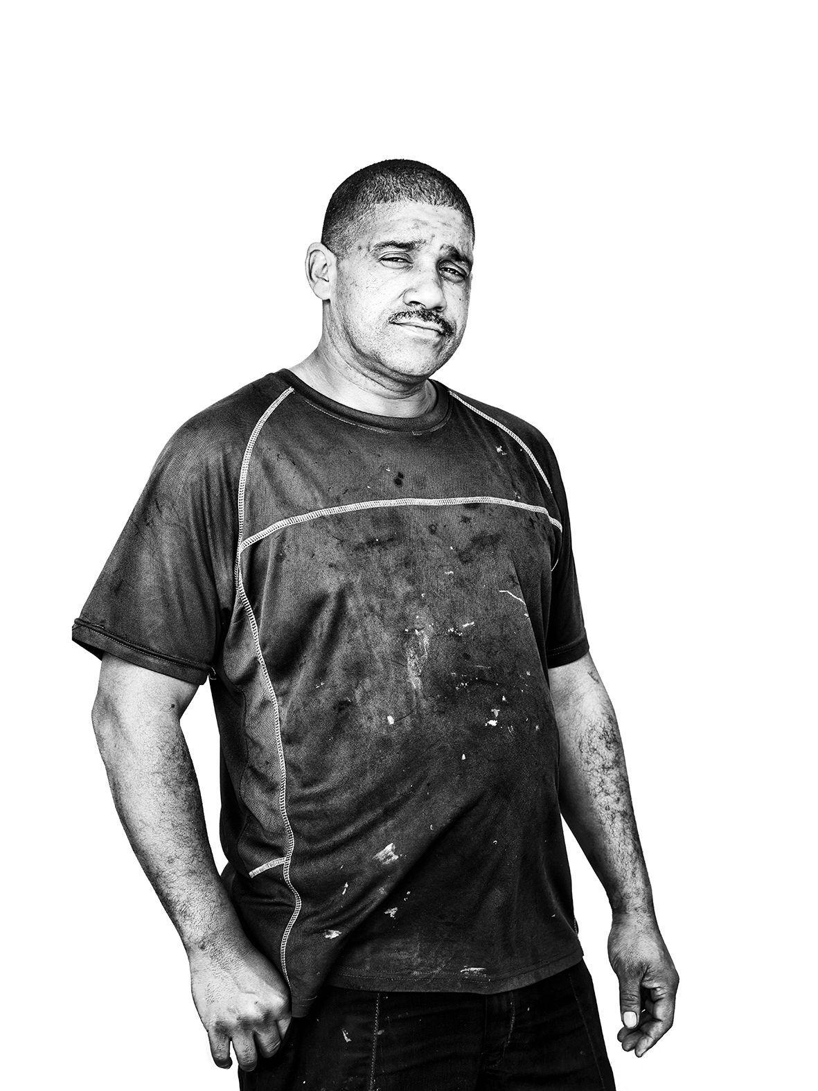 Portrait of Melkom, my head mechanic in Grassy park.