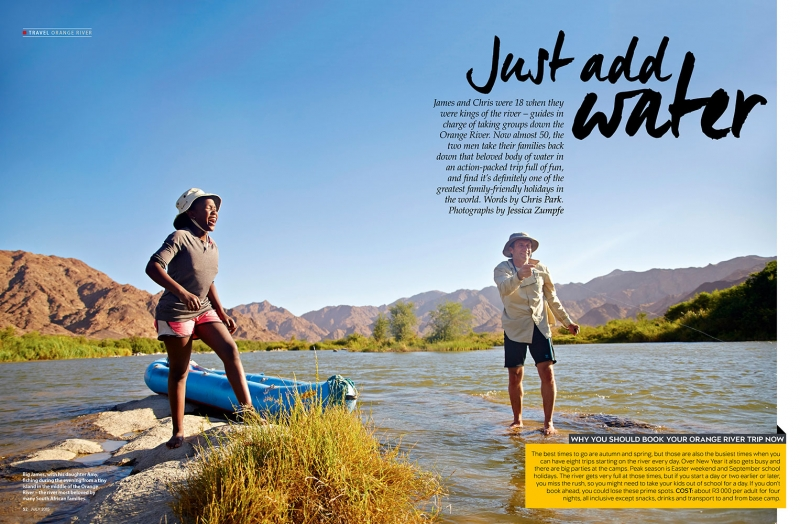 Getaway Magazine spread shot by Jessica Zumpfe